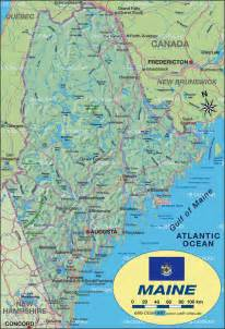 map of maine united states usa map in the atlas of