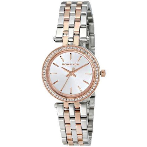 montre michael kors darci mk3298 montre ronde bicolore femme sur bijourama montre femme pas
