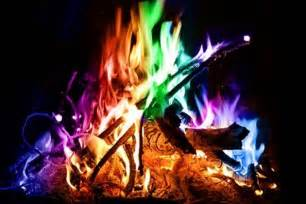 colorful flames color your magical flames adds colorful flames to a