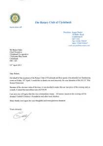 thank you letter for participation in charity event