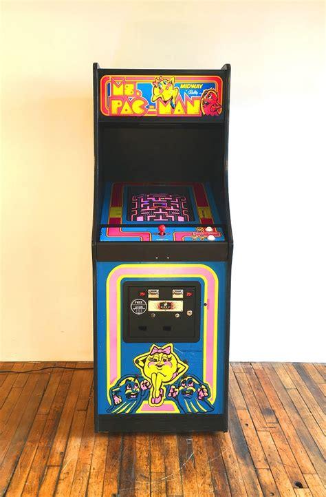 arcade specialties ms pac man video arcade game  sale