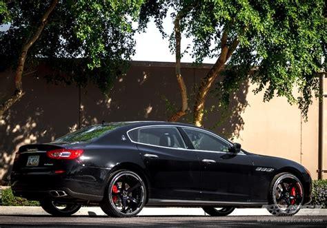 maserati quattroporte black rims maserati quattroporte custom wheels gfg supremo d 2 22x