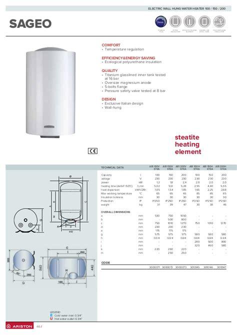 Water Heater Ariston 100 Liter ariston water heater jual ariston water heater pro r