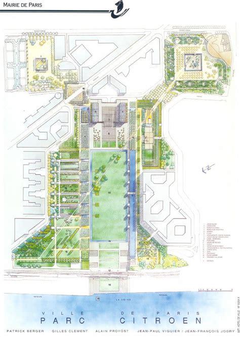 Parc Andre Citroen by Plan Parc Andr 233 Citro 235 N Carte Parc Andr 233 Citro 235 N