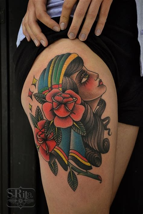 pinup doll tattoos 41 best images about traditional doll faces on