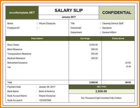 7 pay slip templates sales slip template
