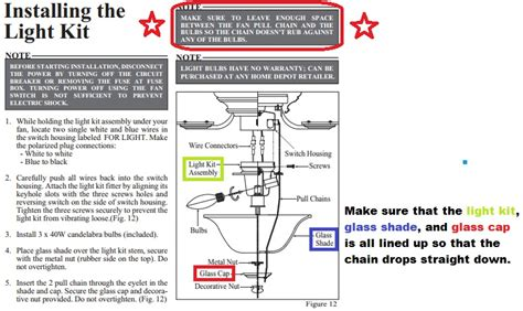 hton bay ceiling fan light wiring diagram free