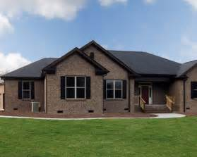 Luxury One Story House Plans One Story Brick Home Houzz