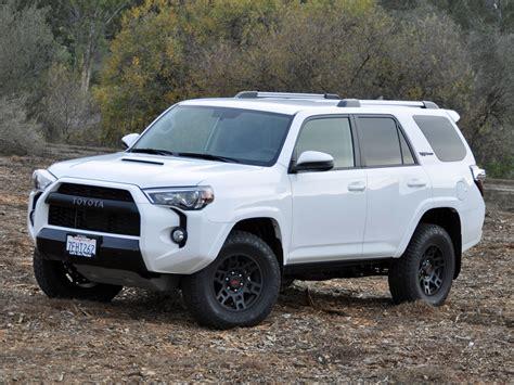 Toyota 2015 4runner 2015 Toyota 4runner Trd Pro Series White Front Quarter