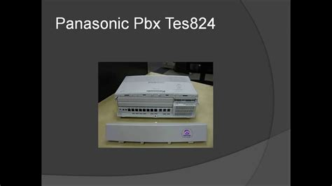 panasonic pbx intercom complete wiring diagram