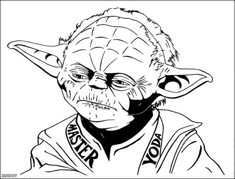 coloring page yoda star wars yoda coloring pages download and print for free