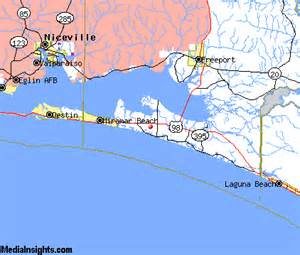 Santa Rosa Florida Map by Santa Rosa Beach Com Map
