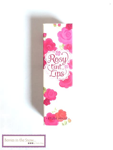 Etude House Rosy Tint review etude house rosy tint berries in the snow