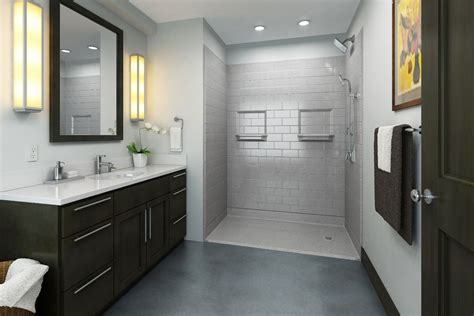 barrier free shower bullock access accessible safe bathrooms with barrier free showers