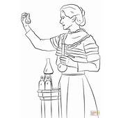 Marie Curie Coloring Page  Free Printable Pages