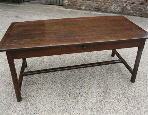 antique wide oak 7 h stretcher farmhouse table sold gallery