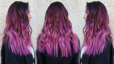 pravana magenta hair color smokey magenta hair color tutorial w pravana xl vivids