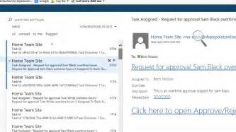 sharepoint workflow tasks sharepoint 2013 workflow assign a task to a user email