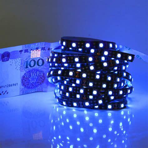 black light led strip dc12v black pcb uv led strip light 5050 smd 60leds m 0 5m