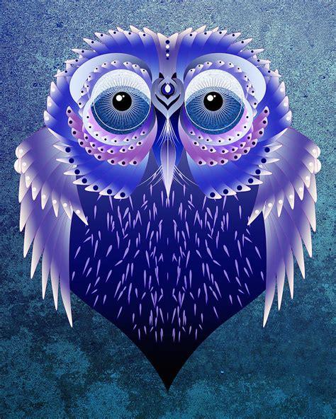 L Owl by Vector Owl Digital By Julie L Hoddinott