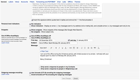 Out Of Office Gmail by Appscare How To Set Your Out Of Office In Gmail Appscare