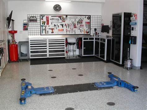 garage workshop layout tips modern garage interior design ideas garage interior