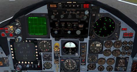 McDonnell Douglas F-15 Eagle - FlightGear wiki F 15 Cockpit