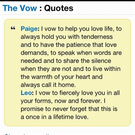 wedding vow quotes from movies
