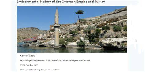 the history of the ottoman empire workshop environmental history of the ottoman empire and
