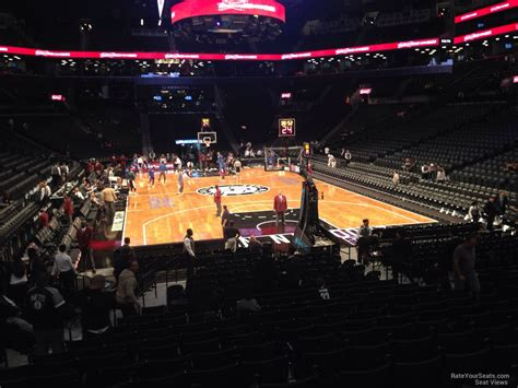 section 1 barclays center barclays center section 1 brooklyn nets rateyourseats com