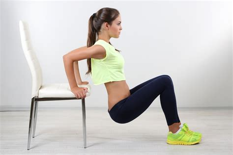 Iron Chair Exercise by The Best Arm Toning Workout With Dumbbells Tone And Tighten