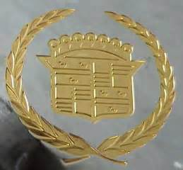 Gold Cadillac Emblem Auto Trim Design Of Utah Gold Plating
