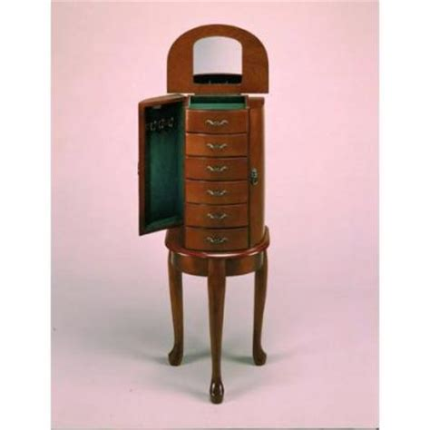 standing mirrored jewelry armoire standing jewelry armoire with mirror
