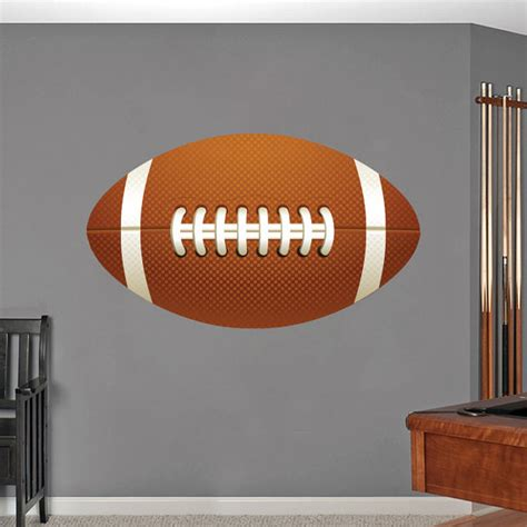 wall stickers football football printed sports wall decals