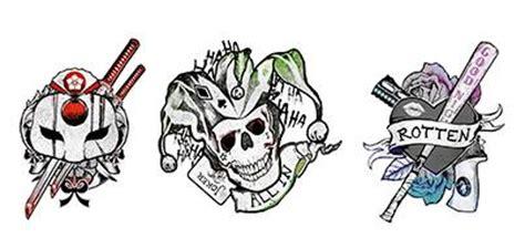 imagenes de calaveras joker ven al sal 243 n de tatuajes del escuadr 243 n suicida es la