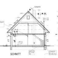 haus schnitt zeichnen grundriss einfamilienhaus 180 qm
