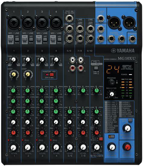 Mixer Yamaha Mg10xu yamaha mg10xu keymusic