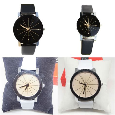 membuat gelang jam palight lepas pu kulit gelang jam tangan putih untuk