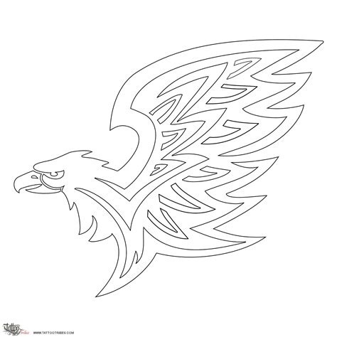 eagle tattoo stencil 5 best images of eagle feather stencil printable eagle