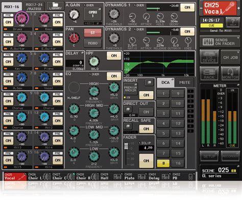 Mixer Yamaha Cl Series cl series mixers products yamaha