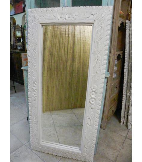 specchio cornice legno specchio legno intarsiato emporio d oltremare