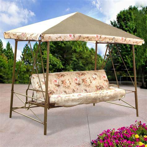 courtyard creations swing courtyard creations rus472w 2007 garden swing garden winds