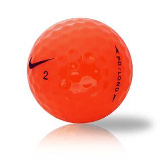 nike pd soft orange golf balls sale golf discount nike pd long orange used golf balls