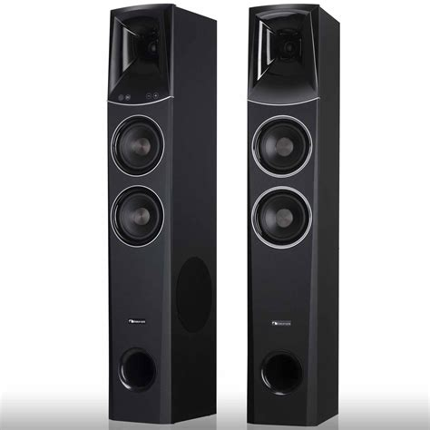 nakamichi twspkr  tower speakers home theater system