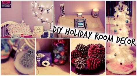 diy holiday room decorations easy ways to decorate for