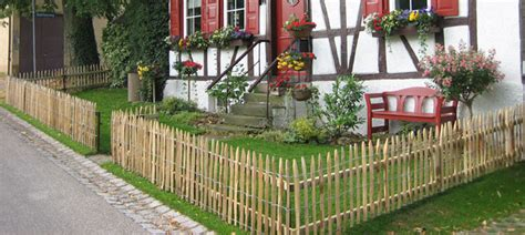 Geländer Maße by Idee Bauerngarten Zaun
