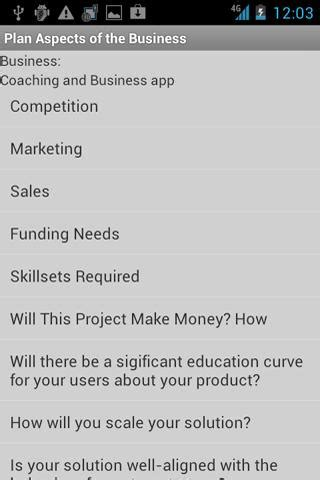 business plan template app business plan start startup android apps on play