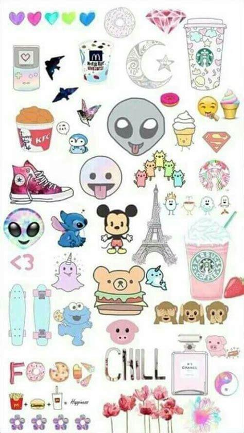emoji collage wallpaper cute emoji background backgrounds pinterest