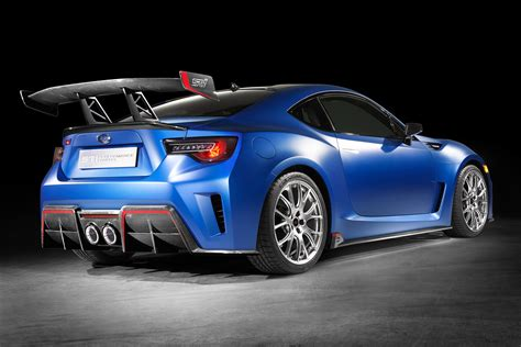 brz subaru turbo subaru brz sti performance concept revealed with high