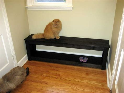 small mudroom bench indoor small entryway bench with black color small